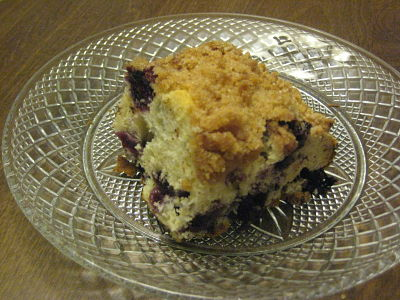 Hunk o' Blueberry Buckle