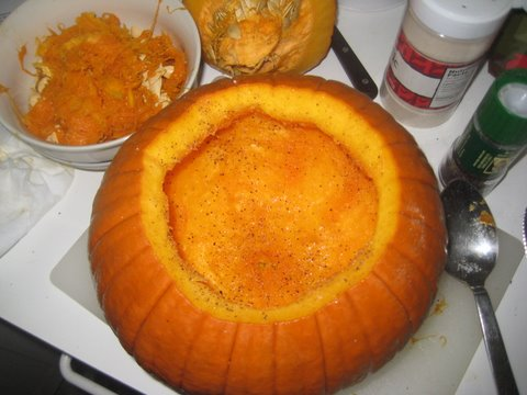 Seasoned Pumpkin