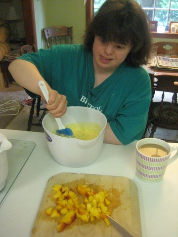 Suzy Mixing the Muffins 3